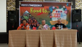 BPBD Babel Gelar Press Conference 'Road To PRB 2019'