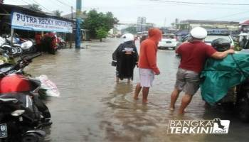 Ini Data Banjir Kota Pangkalpinang, 27 April 2018