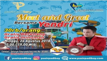 Pasir Padi Bay Akan Gelar 'Meet And Greet' Bersama Yendri Lida